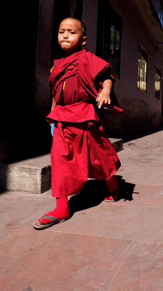 monk with attitude